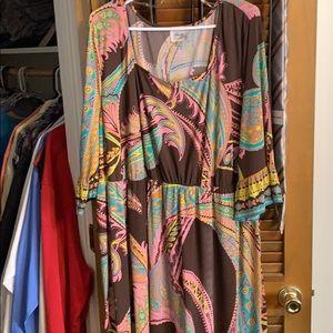 Beige dress from belks
